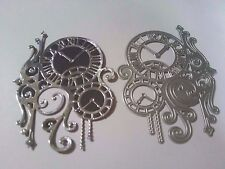 Steampunk Clock Cutting Dies Card Making Stencil Scrapbooking Album Embossing