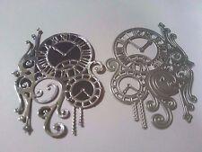 Steampunk Clock Cutting Dies Card Making Stencil Scrapbooking Album Embossing