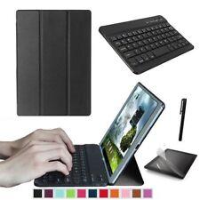 """Schwarz Samsung Galaxy Tab A 10.1"""" T580 T585 Tablet Tasche Case Hulle + Tastatur"""