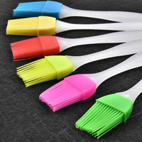 2 Silicone Baking BBQ Bakeware Cake Pastry Bread Oil Cream Cooking Basting Brush