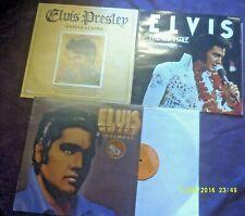 ELVIS PRESLEY 3 LPS-US MALE,INSPIRATIONS,IN DEMAND