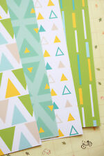 Geometric Patterns Card Stock 250gsm printed cardstock wedding craft postcards