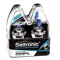 Seitronic® 2er Set H7 55W Xenon Style/ Look Lampen Weiß Halogen Birnen Autolampe