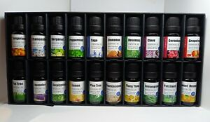 Essential Oils Aromatherapy 100% Natural Therapeutic Grade Gift Set