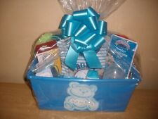 "Baby Boy "" A Gift for Baby ""  Baby Shower Gift Basket or Centerpiece"