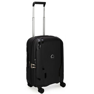 NEW Delsey Clavel Expandable Spinner Case Black 55cm