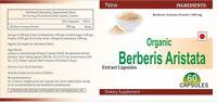 ORGANIC Berberis Aristata Extrakt Kapseln Berberin Blutzucker zu kontrollieren