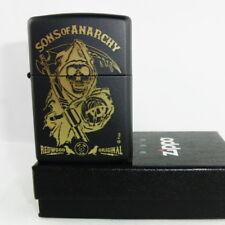 Zippo en TU MECHERO Sons of Anarchy-Redwood original SAMCRO SOA nuevo embalaje original