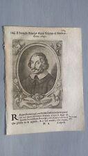 1669 Ritratto Opizzone d'Este Obizzo Principe di Modena e Reggio Emila, Vescovo