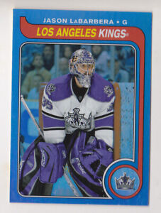 08-09 OPC Jason LaBarbera /100 RETRO RAINBOW 1979-80 LA Kings 2008