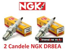 7162 - 2 Candele NGK DR8EA per HONDA CB 450 SC Nighthawk dal 1982 >