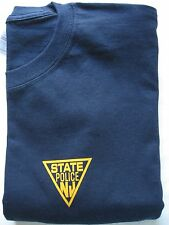MENS  NEW JERSEY STATE POLICE TEE SHIRT - S/S - SIZE  -  LARGE