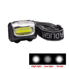 Mini LED COB Headlamp Taschenlampe Headlight Stirnlampe Kopflamp Licht Lamp AAA