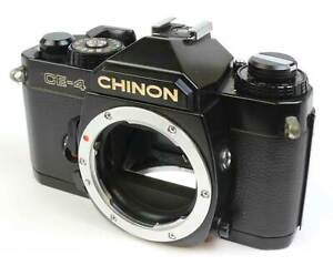 Chinon CE-4 35mm SLR film camera body only - clean and in good working order