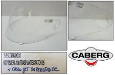 Visiera visor casco integrale full-face helmet CABERG 188-198 trasparente clear