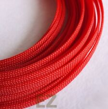 6mm x 5m RED Expandable Braided Cable Sleeving High Density PC RC WIRE Modding