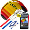 HQ 1.3M Symphony Beach III Trainer Kite w/Straps Foil Power Kiteboarding Stunt M
