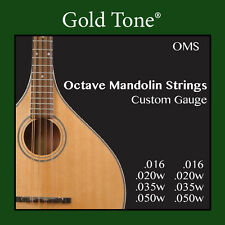 Gold Tone OMS Octave Mandolin Custom Strings