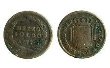 pcc1554_12)  Lombardo Veneto Maria Teresa Mezzo Soldo 1777  - AUSTRIA