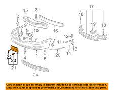 15276881 passenger Buick GM OEM 05-09 LaCrosse-Bumper Trim-Molding Trim Right