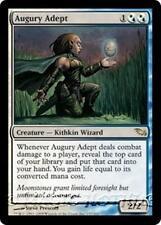 AUGURY ADEPT Shadowmoor MTG White/Blue Creature — Kithkin Wizard RARE