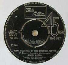 Jimmy Ruffin-What Becomes Of The Brokenhearted-TMG 577-Vinyl-Single-Tamla Motown