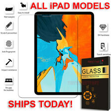 Tempered Glass Screen Protector For iPad 10.2 9.7 12.9 6th Air Pro Mini 2/3/4 US