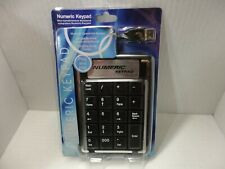 USB Numeric Keypad Keyboard Numpad Number Pad Wired Comfortable Portable Thin A+