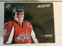 NHL Washington Capitals Ovechkin CCM Rapide Hockey Skates Size 6.5 us NIB