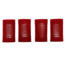 Hair Volume Up Rollers JET SET EZ GRIP DIY Setting Styling Kit Red 39mm