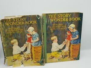 The Story Wonder Book, Illustrated, Harry Golding (Ed), 1937 Hardback+ Dustcover