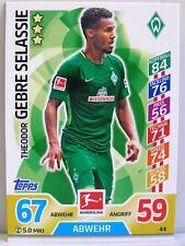 Match Attax 2017/18 Bundesliga - #044 Theodor Gebre Selassie - SV Werder Bremen
