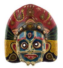 Grand Masque nepalais Mahakali Indra jatra Festival Papier mache Tibet 46cm 1527