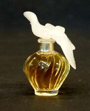 L'Air du Temps NINA RICCI Vintage MINIATURE Glass PERFUME BOTTLE / UNUSED!
