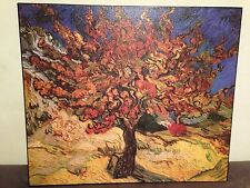 """Van Gogh Mullberry Tree Painting Stretched Canvas Reproduction 28"""" Home Decor"""