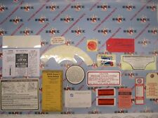 1959 Buick 2 BBL Engine & Interior Decal/Tag Kit | Set of 19