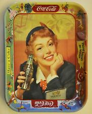 COCA COLA VASSOIO ORIGINALE USA 1950 MODERNARIATO VINTAGE PUBBLICITA'