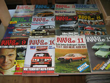 12 Auto Revue 1976 - Lauda Unfall, Hunt, Regazzoni, Fittipaldi, Kadett GTE