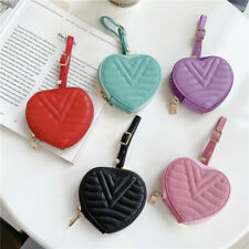 For Apple AirPods Pro 1 2 Heart Charging Box Protective Leather Strap Case Cover