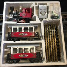 """LGB #22540 """"THE CHRISTMAS TRAIN"""" RED STARTER SET * G SCALE * EXCELLENT CONDITION"""