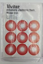 Vivitar Automatic Electronic Flash 283 instruction Manual Guide (En)