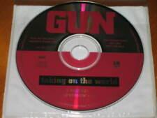GUN - Taking On The World - 2 Track PROMO CD w/ FADE! RARE! OOP!