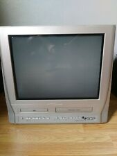 "Magnavox 20Mc4304/17 20"" Crt Tv/Dvd/Vcr/Retro Gaming Combo Television no remote"