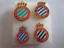 lotto 4 pins lot RCD ESPANYOL BARCELONA FC club spilla football calcio spille