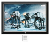 Star Wars Episode V - The Battle of Hoth - Framed Museum Canvas™ Special Edition