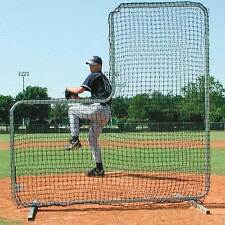 Collegiate Pitcher Protective L-Screen - Baseball