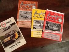 Ford Anglia Anglebox magazines 105e owners club x4