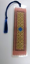 Beautiful 'Celtic Chain'  Woven Bookmark NEW Great Gift