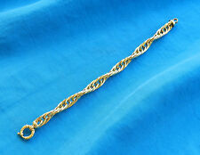"""14k Yellow Gold Large Link Rope Chain Bracelet *8"""" x 3/8""""*    *18.3 Grams*"""