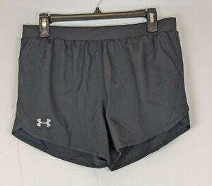 Under Armour Fly By 2.0 Running Shorts, Black, Women's Medium